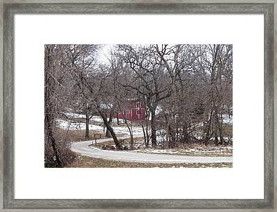 Off The Beaten Path Framed Print by Liane Wright