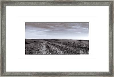 Framed Print featuring the photograph Off The Beaten Path by Thomas Bomstad