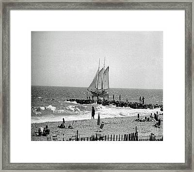 Off The Coast Framed Print by Timothy Clinch