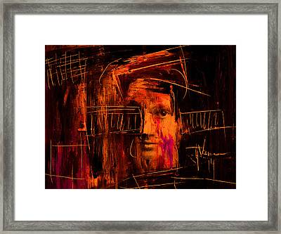 Off The Grid Framed Print by Jim Vance