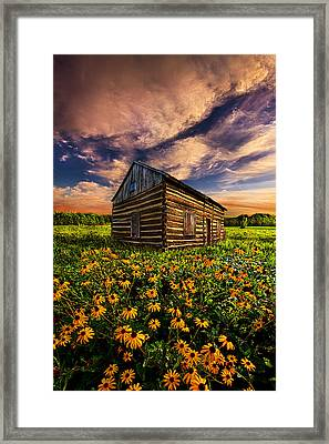Off The Grid Framed Print