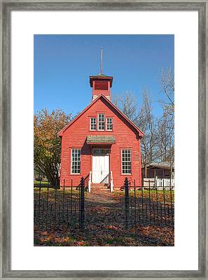 Off To School We Go Framed Print by Thomas Sellberg