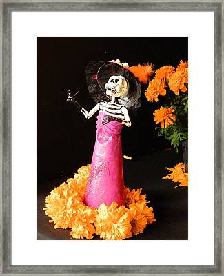Offering For The Dead Framed Print by Sergio Diaz