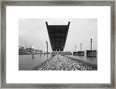 Office Building At The Waterfront Framed Print by Panoramic Images