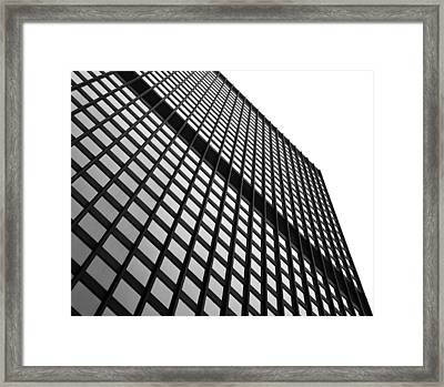 Office Building Facade Framed Print by Valentino Visentini