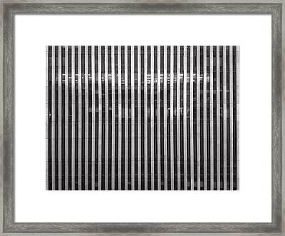 Office Building Framed Print by H James Hoff