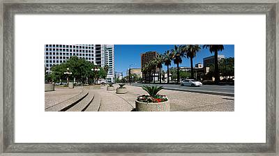 Office Buildings In A City, Downtown Framed Print by Panoramic Images