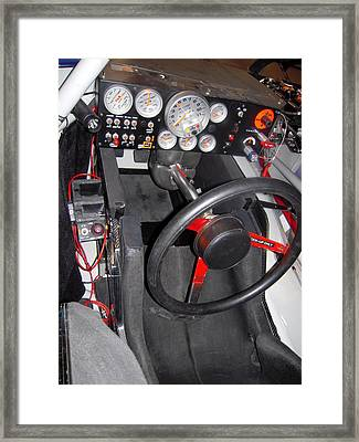 Office For A Race Driver Framed Print