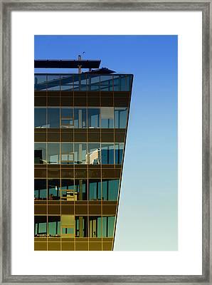 Office Framed Print by Kent Mathiesen