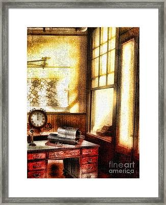 Office Framed Print by Mo T