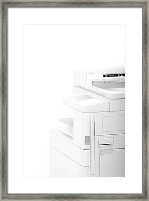 Office Multifunction Printer Framed Print by Frank Gaertner