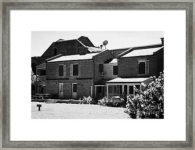 Officers Quarters At Fort Jefferson Dry Tortugas National Park Florida Keys Usa Framed Print by Joe Fox