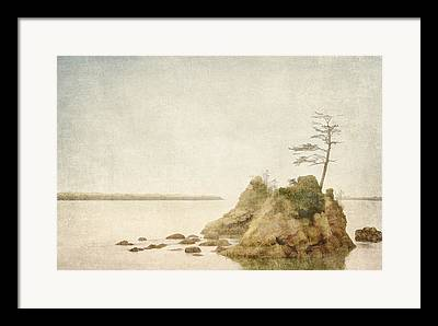 Offshore Rocks Framed Prints