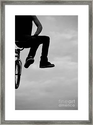 Offsides Framed Print by A K Dayton