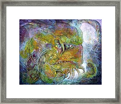 Offspring Of Tiamat - The Fomorii Union Framed Print by Otto Rapp