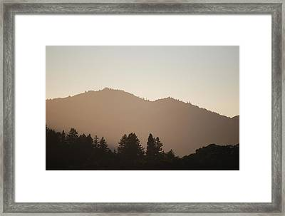 #offthegrid Framed Print by Becky Furgason