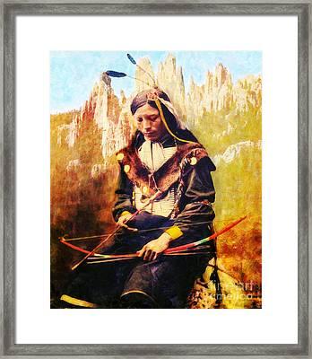 Oglala Homeland Framed Print