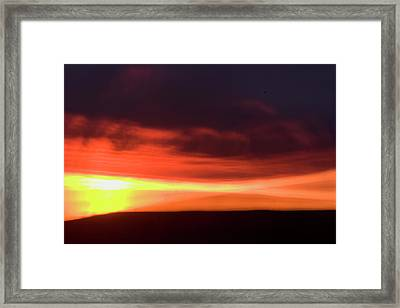 Oglala National Grassland Framed Print