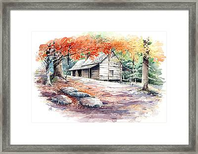 Ogle Farmhouse Framed Print