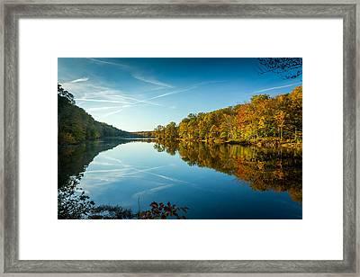 Ogle Lake Framed Print
