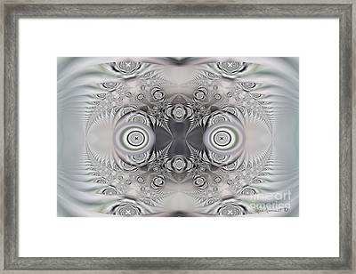 Ogle Framed Print by Leona Arsenault