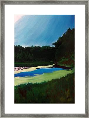 Oglebay Park - Palmer Course Framed Print