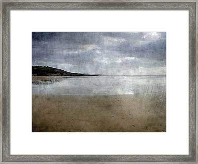 Ogmore Beach Framed Print by Kevin Round
