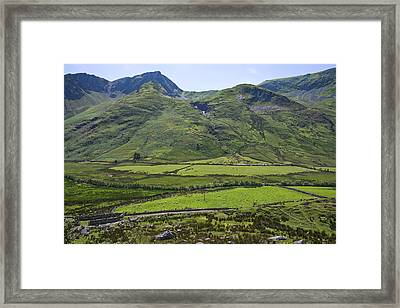 Ogwen Valley Wales Framed Print by Jane McIlroy