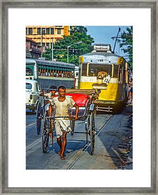 Oh Calcutta Framed Print by Steve Harrington