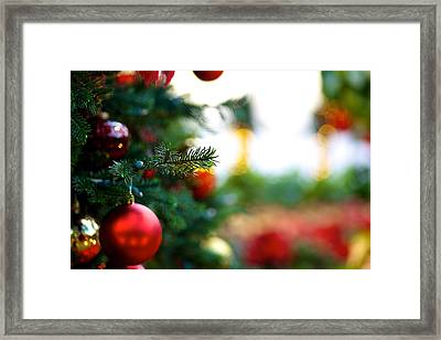 Oh Christmas Tree Framed Print by JM Photography
