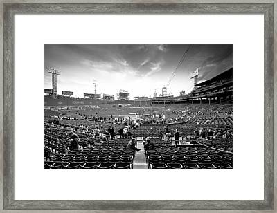 Oh Happy Days Framed Print by Paul Treseler