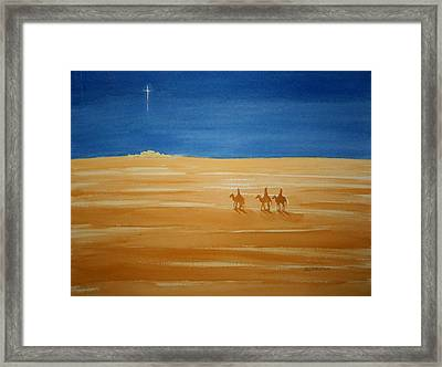 Framed Print featuring the painting Oh Holy Night by Stacy C Bottoms