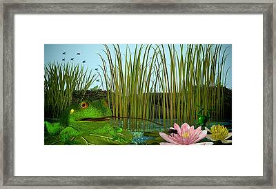 Oh I Missed - No Lunch Today Framed Print