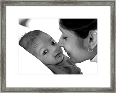 Oh Mom Framed Print by Lisa Phillips