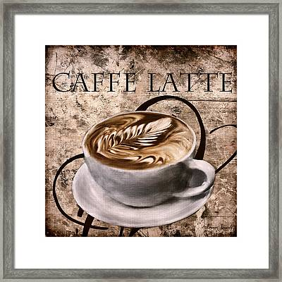Oh My Latte Framed Print
