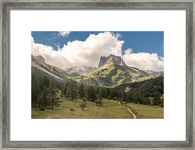 Play Me Some Mountain Music Framed Print