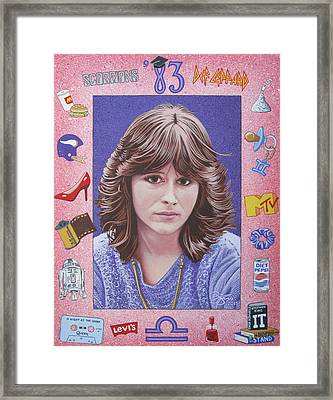 Oh Sherrie Framed Print by Lance Bifoss
