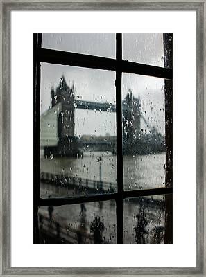 Framed Print featuring the photograph Oh So London by Georgia Mizuleva