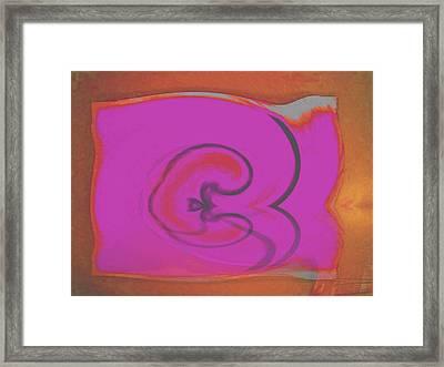 Oh Sweet Pomme Framed Print