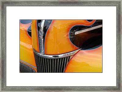 Oh That V8 Smile Framed Print by Ellen Tully
