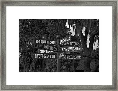 Oh The Decisions..... Framed Print by Jason Blalock