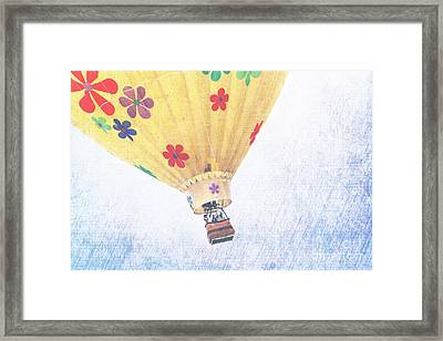 Oh The Places You Will Go Framed Print