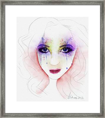 Oh Those Eyes Framed Print