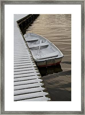 Oh To Row South Framed Print by Odd Jeppesen