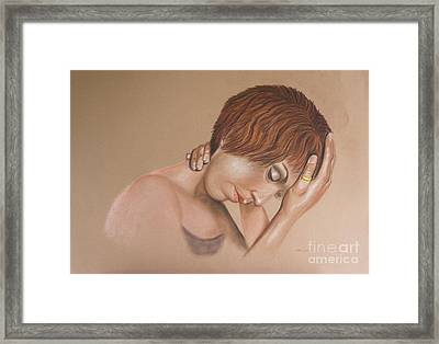 Oh What A Day Framed Print