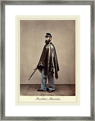 O.h. Willards Galleries, Rubber Poncho Framed Print by Litz Collection