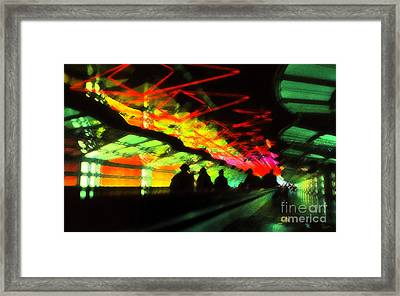 O'hare Airport Framed Print by Jeff Breiman