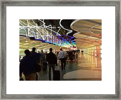 Ohare Shuffle Framed Print by David Bearden