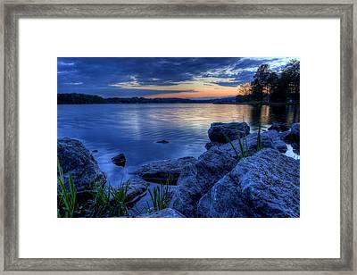 Ohio Spring Sunset Framed Print