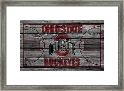 Ohio State Buckeyes Framed Print by Joe Hamilton
